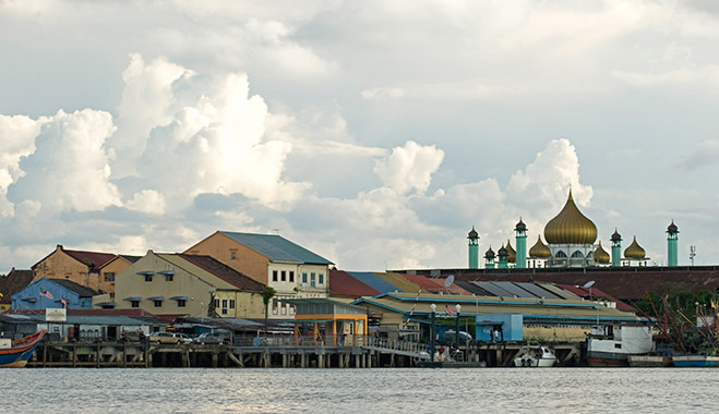 Kuching, Malaysia, the city where Hong Leong Group was founded
