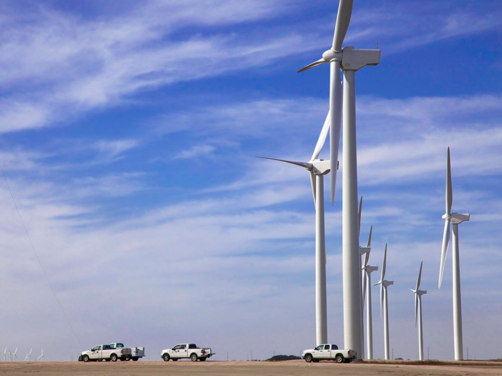 Iberdrola and Gamesa have recently signed an agreement to expand the Peñascal wind farm complex in the United States. The project will become Iberdrola's largest renewable energy facility globally. Image: Imágenes de Iberdrola