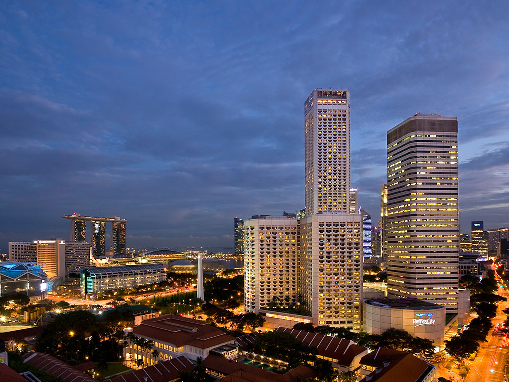 Raffles City Singapore. The group currently has eight Raffles City integrated developments in China