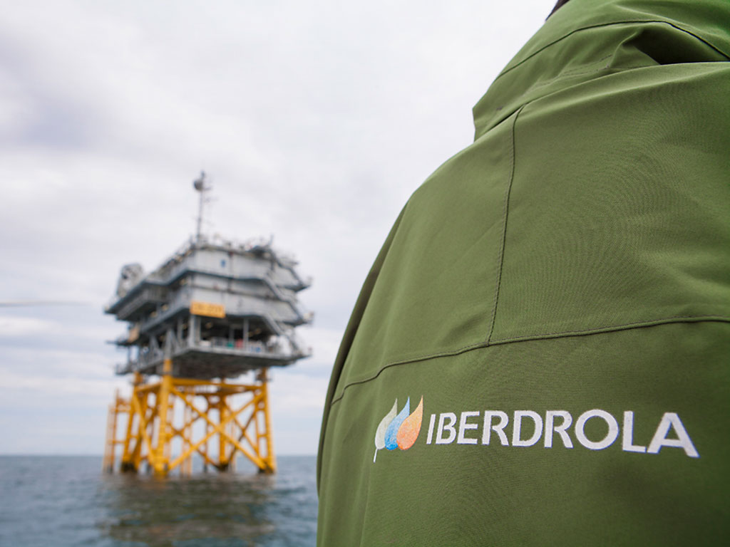 West of Duddon Sands offshore wind farm - one of Iberdrola's projects